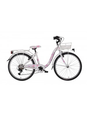 "City Bike 24"" Bloomy Shi 6v Revo"