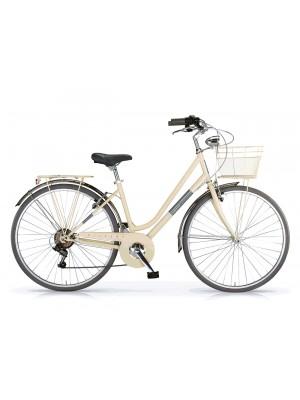 """City Bike 28"""" Silvery acciaio Shi 6v Revo"""