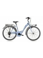 """City Bike 28"""" Agorà acciaio Shi 6v Revo"""