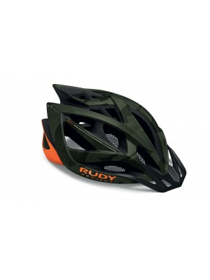 Casco Bici Rudy Project Airstorm MTB Olive Green - Orange Camo Matte mis. L