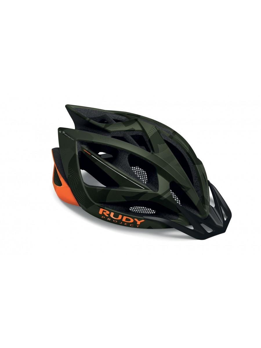 Casco Bici Rudy Project Airstorm Olive Green - Orange Camo (Matte) mis. L