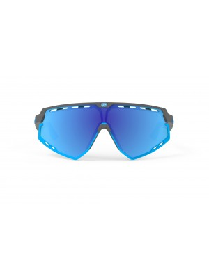 Occhiali Rudy Project Defender Pyombo Matte - Multilaser Blue