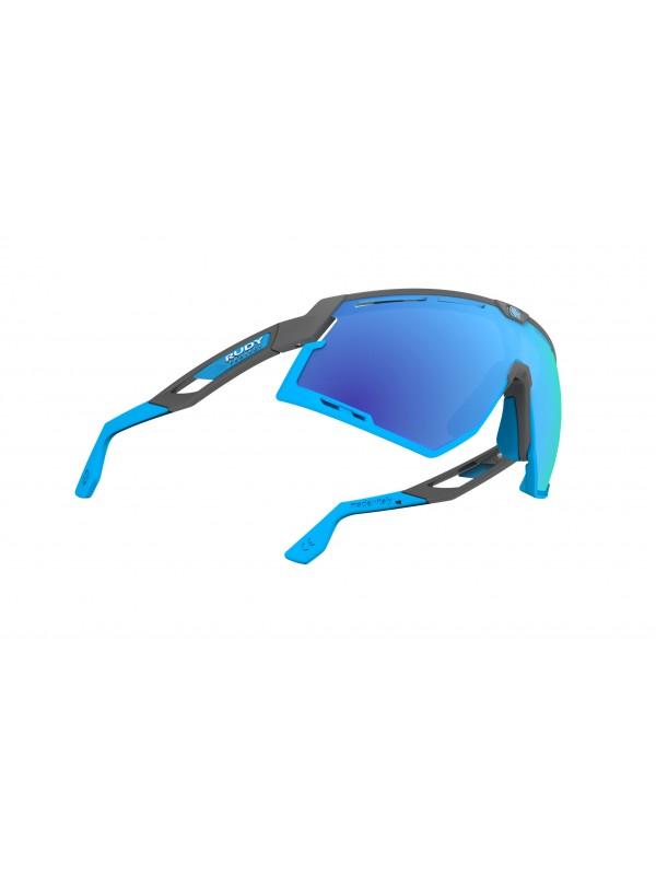 Occhiali Rudy Project Defender Pyombo Matte - Multilaser Blue
