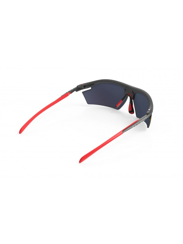 Occhiali Rudy Project Rydon Graphite - Multilaser Red