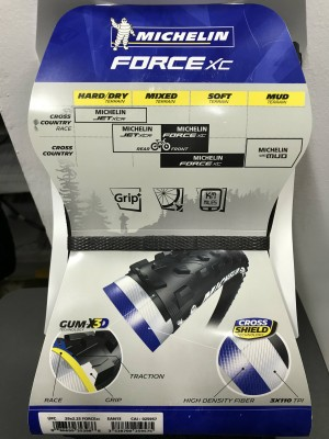Copertone MICHELIN FORCE XC COMPETITION LINE 27x2.10 Gum-X3D Tbl-Ready